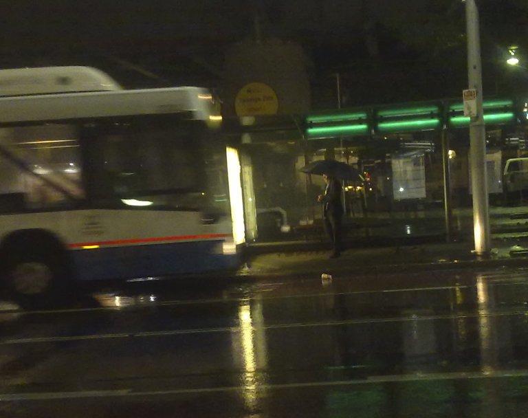Circular Quay Bus Stop Sydney