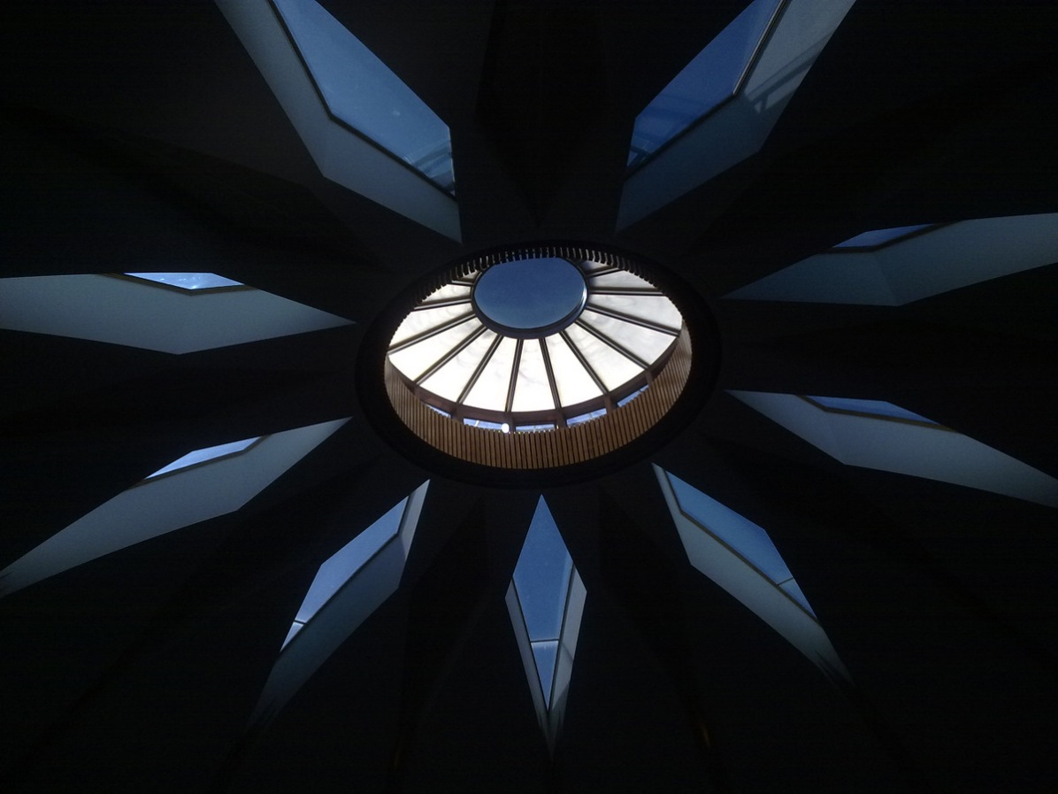 Ceiling of the Bahai Information Centre in Hobart