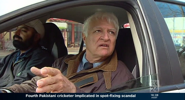Bob Katter Taxi Driver