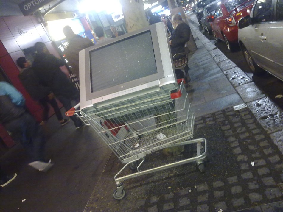 Dumped Television