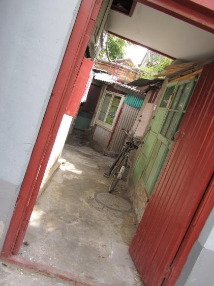 Hutong district