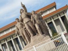 Outside the mauseleum to Mao