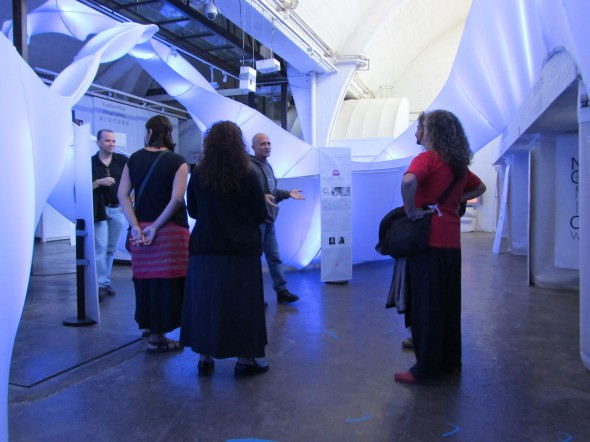 Visiting Yuan Fen Media Art Space