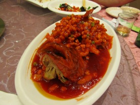 Fish dish - sweet and sour based