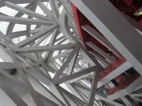Inside the Beijing Olympic Stadium