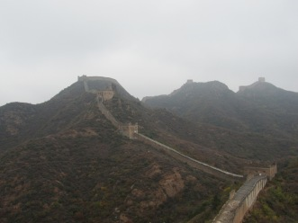 Spectacular view of the Great Wall of China