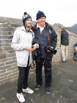 How cool. We met Max Walker on the Great Wall of China