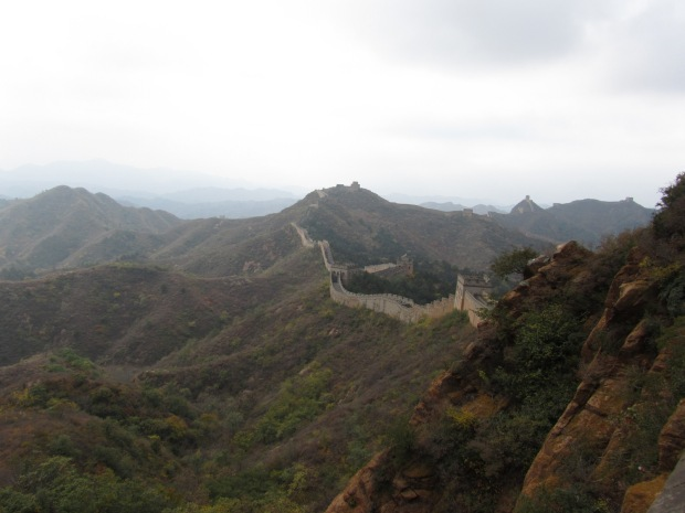 Spectacular views of the Great Wall of China