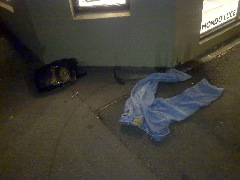 Abandoned Jeans