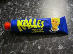 Kalles Kaviar - creamed roe from Sweden