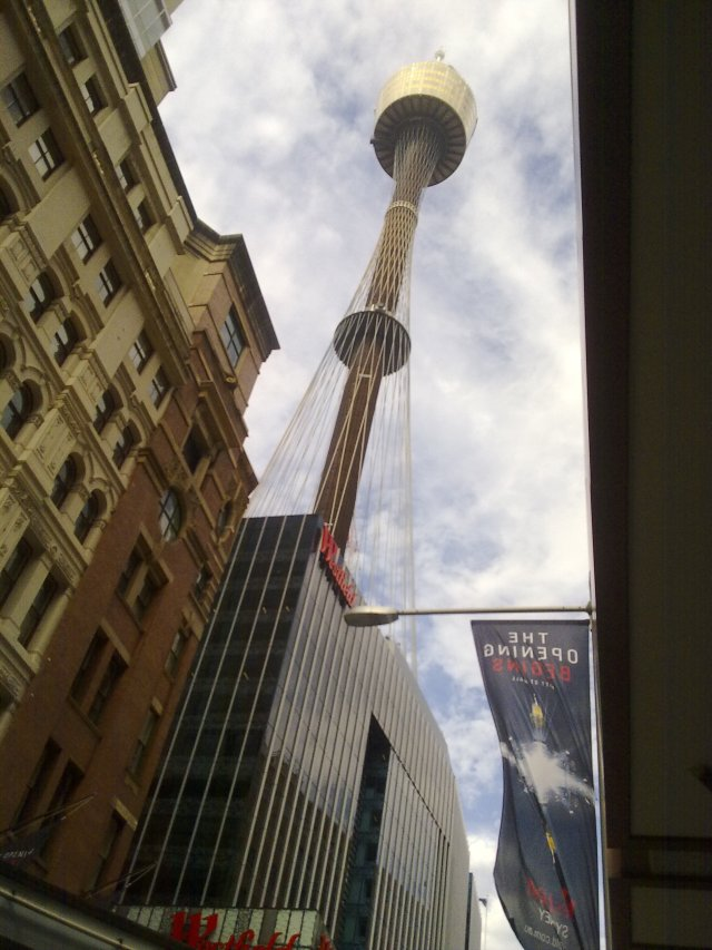 Centrepoint Tower in Sydney