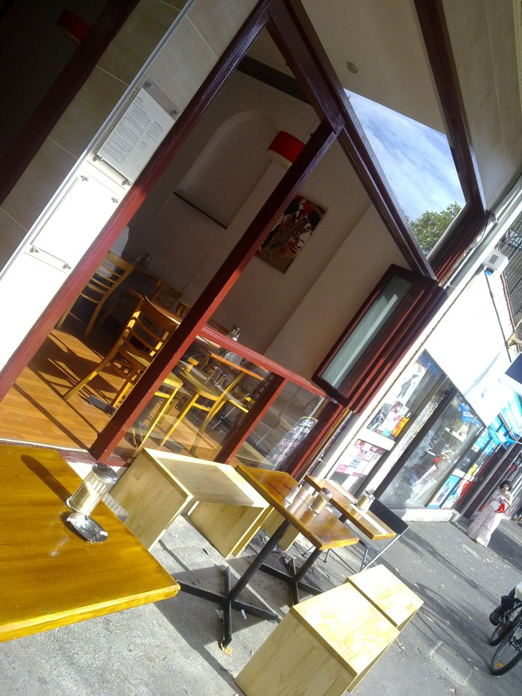 Cossies Cafe in Surry Hills, Sydney