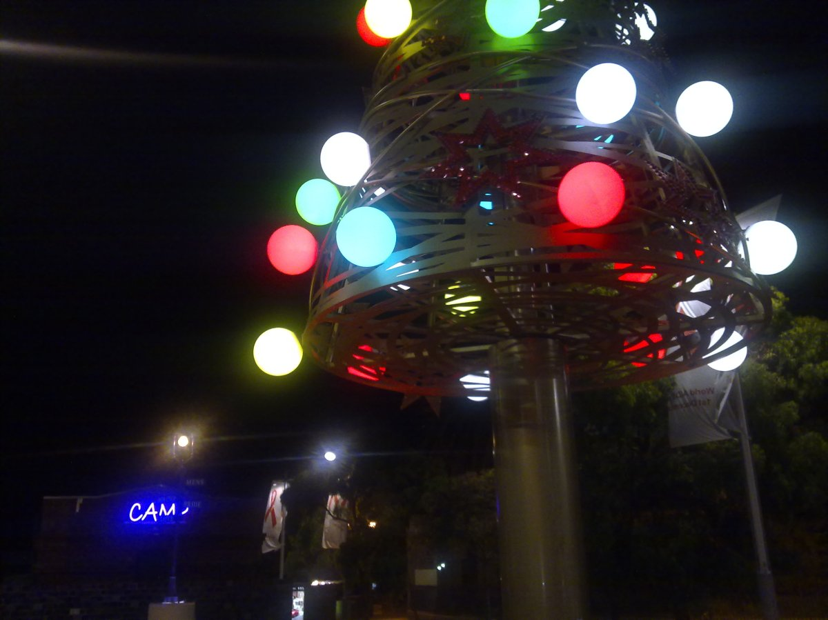 Signs of Christmas in Sydney