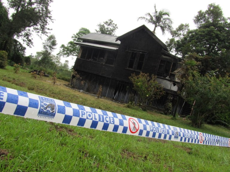 Christmas Eve housefire in South Lismore