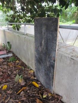 Repairing the levee bank