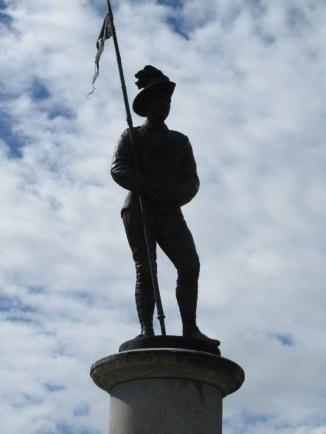 Memorial Statue in Lismore