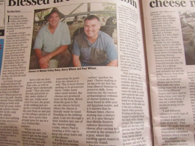 Kerry and Paul in The Echo