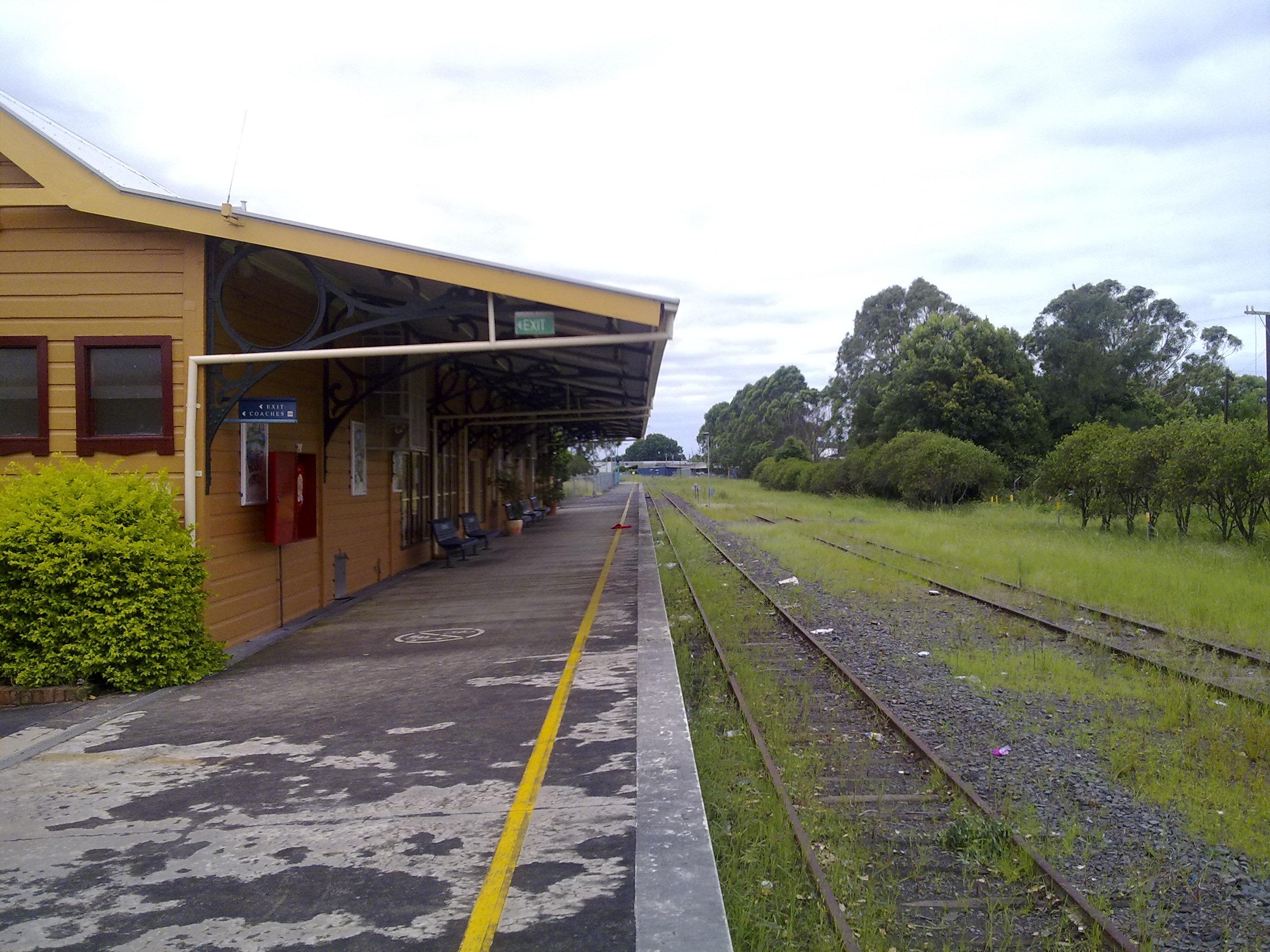Lismore railway station