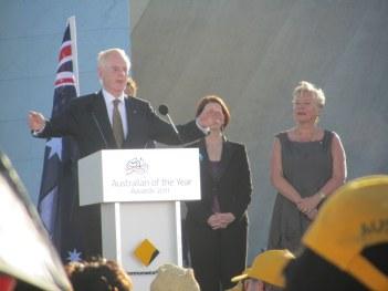 Ron McCallum wins Senior Australian