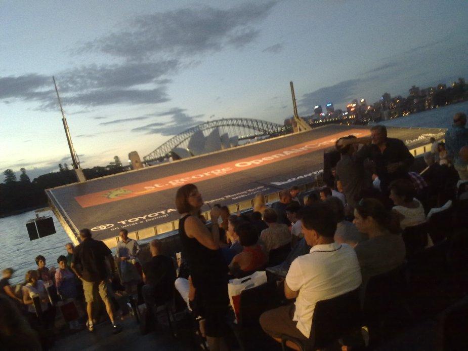 Open Air Cinema in Sydney