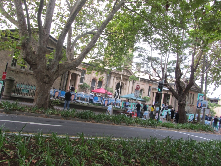 Election day at Bourke Street Primary School