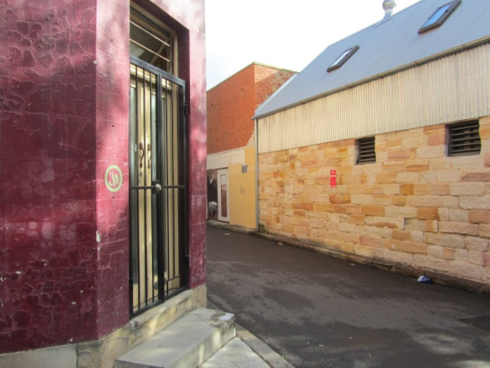 Corner of Ridge Street and Ridge Place, Surry Hills