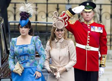 Beatrice, Eugenie and That Hat
