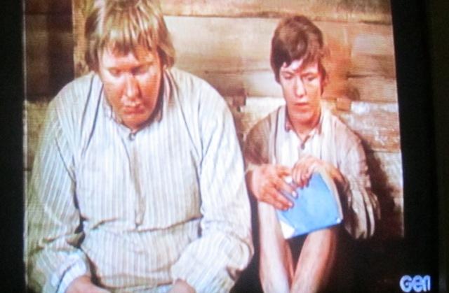 Scene from classic Swedish film, The Emigrants