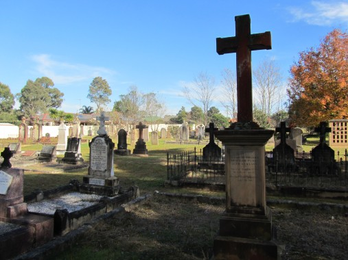 St Bede's Catholic Church Cemetery at Appin