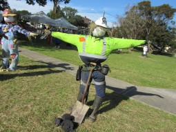 Scarecrow Competition at Celebrations for the 200th Anniversary of Appin - Local Miners