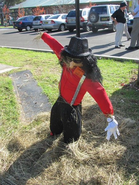 Scarecrow Competition at Celebrations for the 200th Anniversary of Appin - Michael Jackson