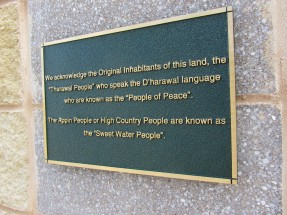 Aboriginal Land Acknowledgement