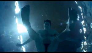 Opening scene from Men Who Swim documentary