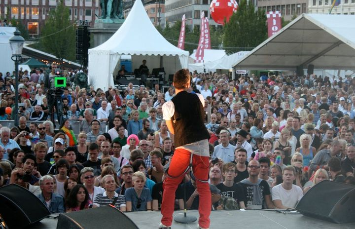 Anthony Callea at Stockholm Pride