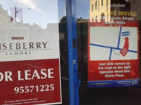 Lots of for leave signs currently in my part of Surry Hills