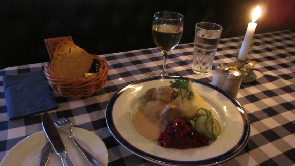 Köttbullar for Sunday Lunch in Stockholm