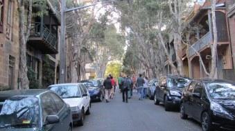 Francis Street, Darlinghurst, one of my favourite streets in Darlinghurst