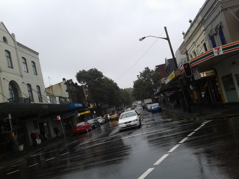 Intersection of Crown and Cleveland Street, Surry Hills