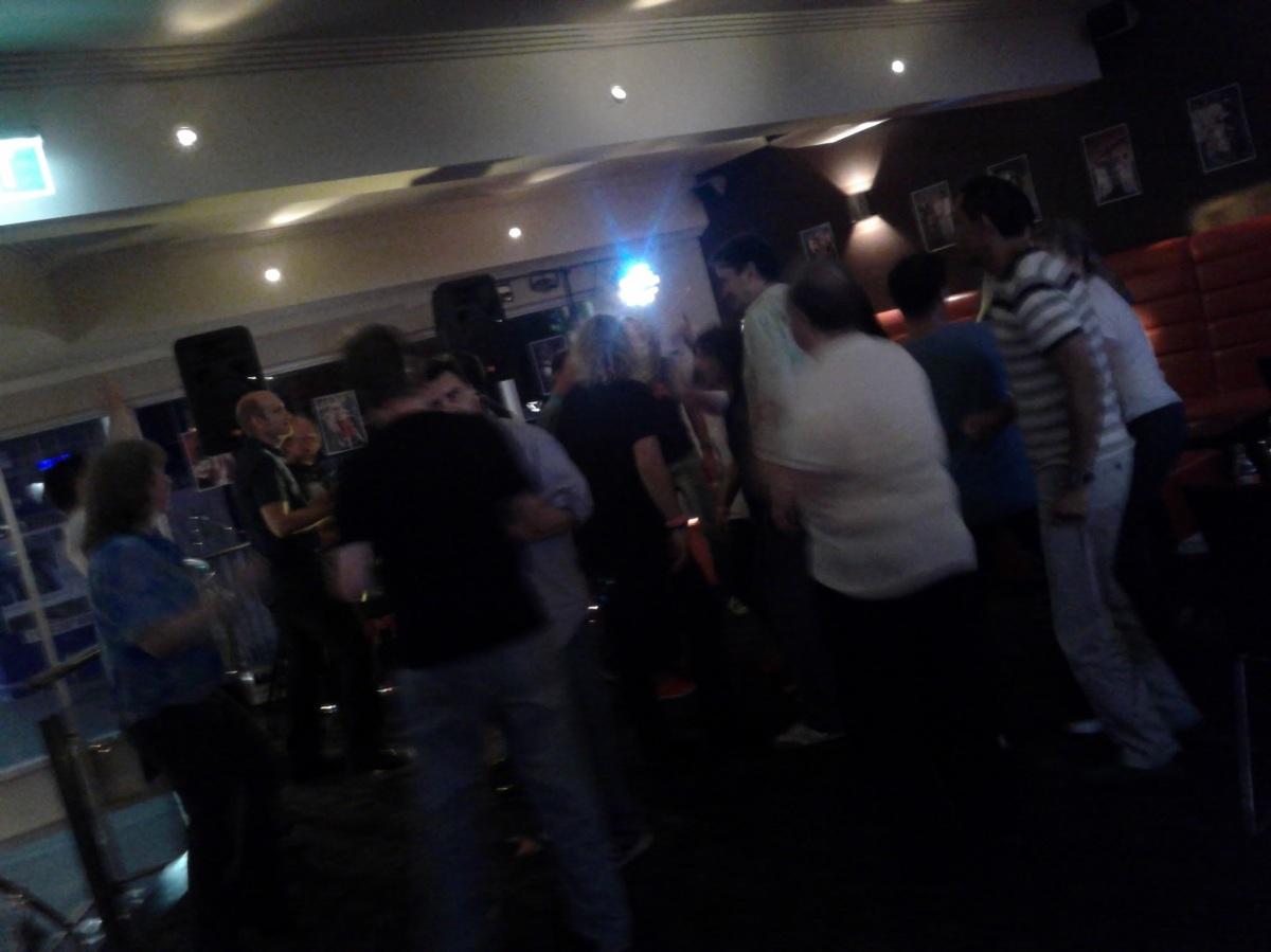 ABBA fan celebration at Railz in Sydney