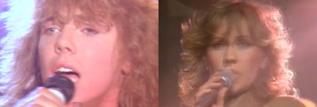 One of these people was in Swedish pop group ABBA, the other was in Swedish rock group, Europe. Can you pick?