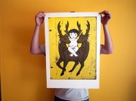 Jason Wing Double Happiness, 2011 Offset lithograph Dims 70 x 50 cm Printer, Big Fag Press