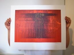 FX Harsono Per Memoriam ad Spem, 2011 Offset Lithographic Print Paper size 60 x 40 cm
