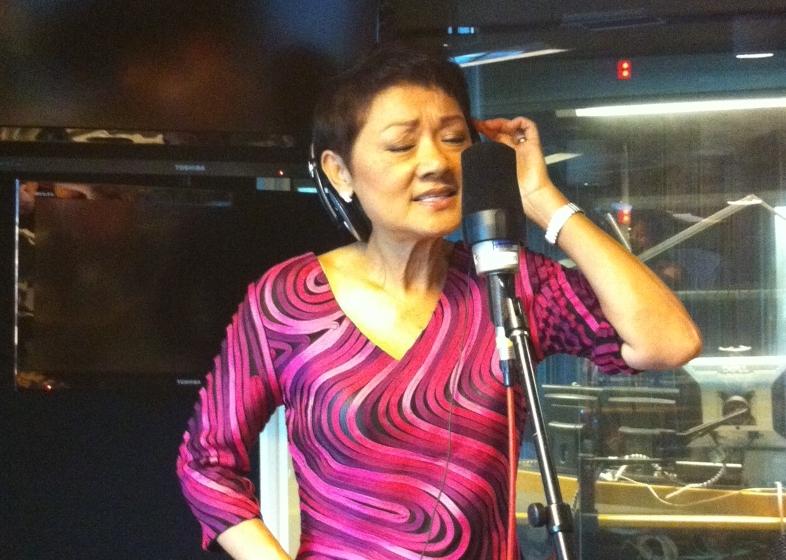 Francis Yip performs live in ABC Radio Studio
