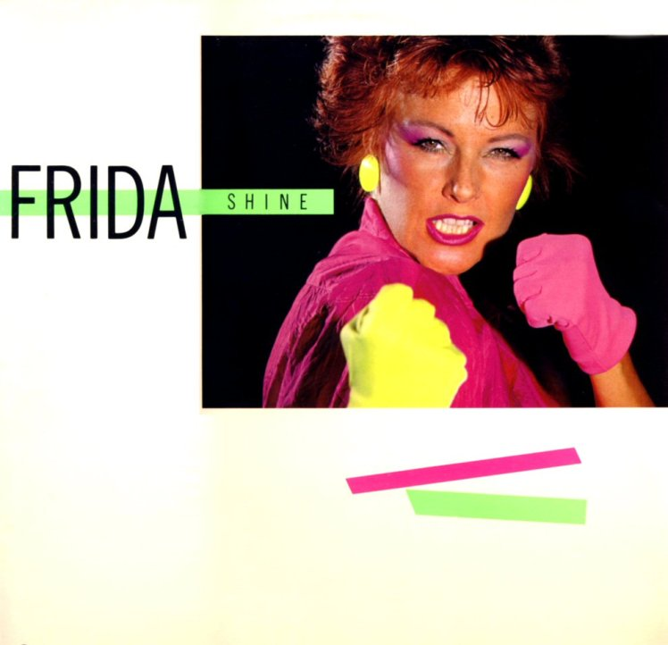 In 1984, Frida was channelling of the fashions of 2012, it seems.