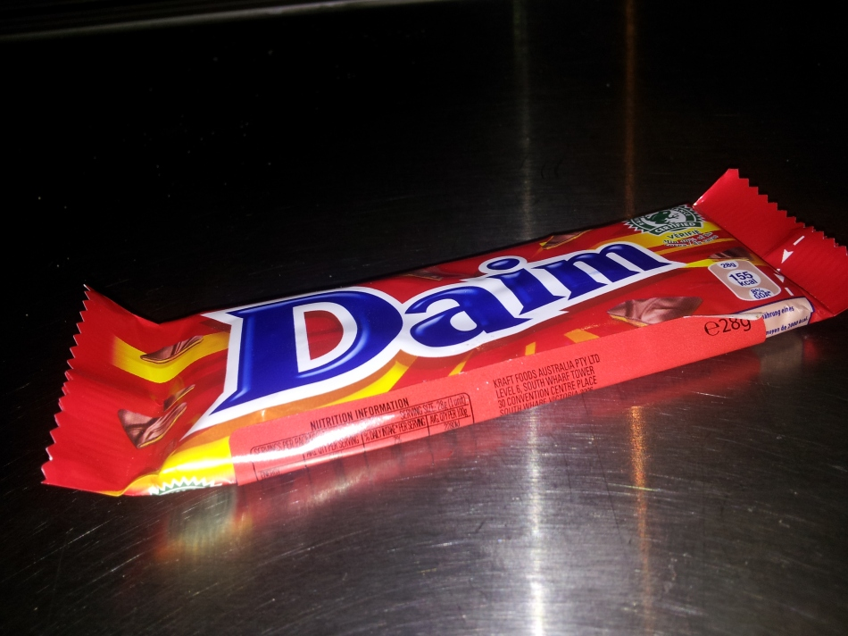 Daim now selling from the Convenience Store on Crown Street