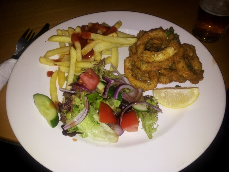 Calamari at the Lewisham Hotel