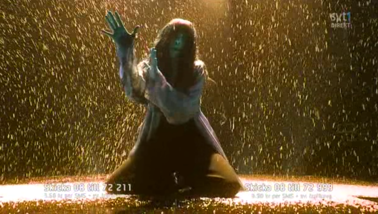 Loreen at Melodifestivalen