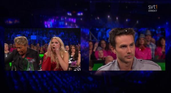 Matthias gets the news he hasn't made it through to the Melodifestivalen Final