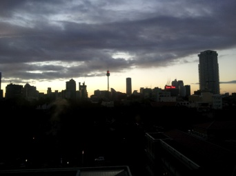 View from the Ninth Floor of St Vincent's Public Hospital, Sydney