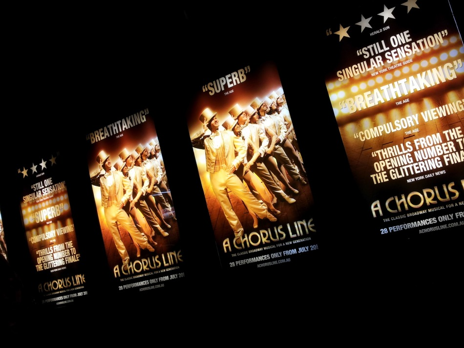 A Chorus Line at Sydney's Capitol Theatre